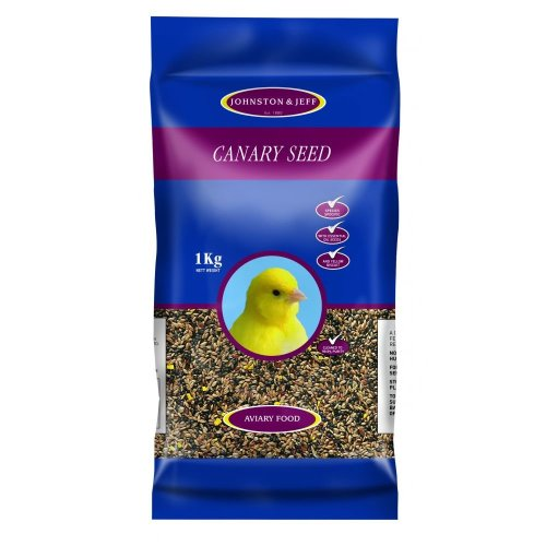 J&j Canary Seed 1kg (Pack of 12)