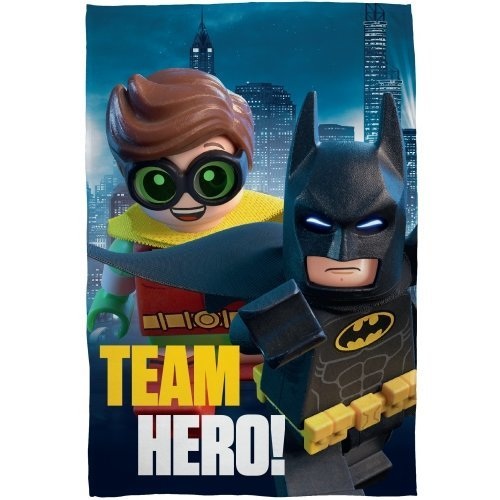 Lego Batman 'Hero' Polar Fleece Blanket