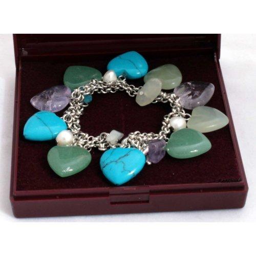 Gemstone Fancy Bracelet - gifts for her
