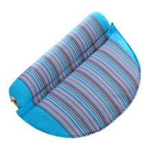 Health Cervical Pillow Comfort Neck Roll Pillow Neck Support Pillow Blue