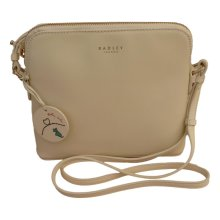 RADLEY 'Millbank' Ivory Leather Small Across Body Bag