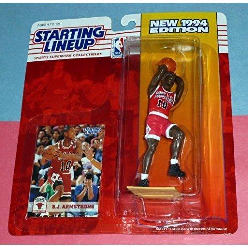 Starting Lineup Sports Superstar B.J. Armstrong 1994