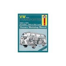 VW Transporter 1600 (68 - 79) up to V Reg - Car Manual