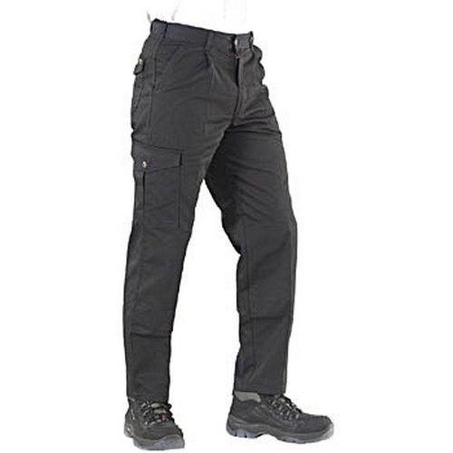"Click PCT9BL26 Polycotton Work Trousers Black 26"" Regular"