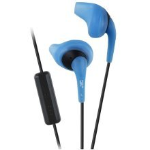 JVC Gumy Sport In Ear Headphones with Remote and Microphone - Blue (HAENR15A)