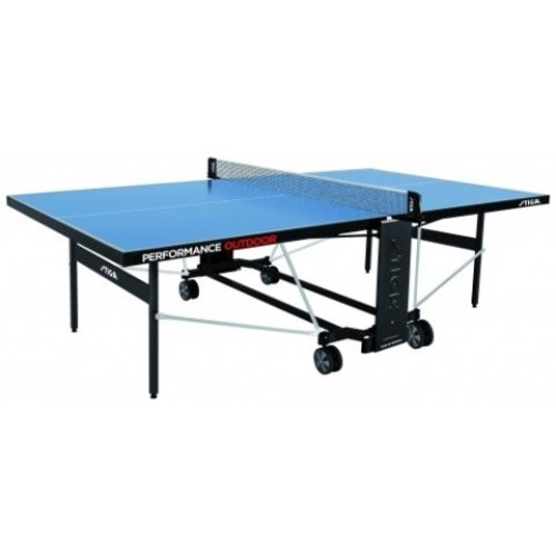 Stiga Table Tennis Table Performance Outdoor Blue with a 5mm Top