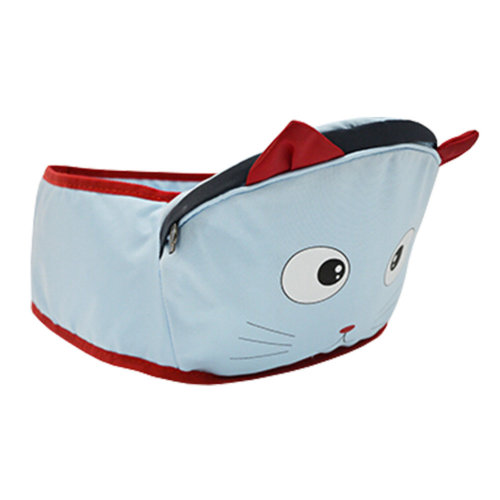 Baby Carrier Baby Waist Stool Strap Seat Carrier,Lovely Animal Design Blue Mouse