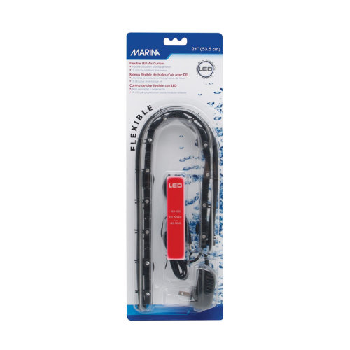 Marina Air Curtain With Red Led