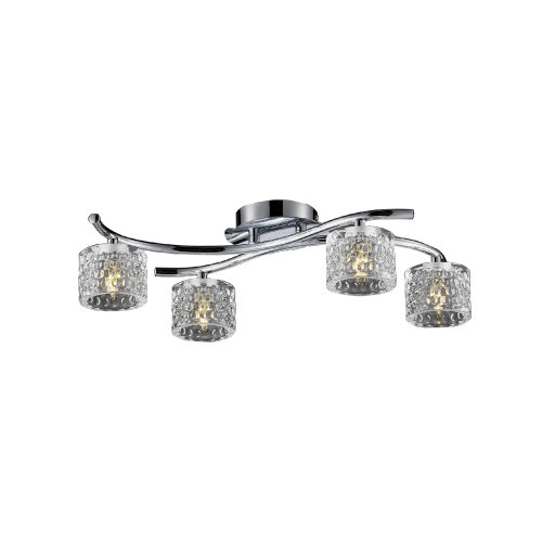 Finsbury 4 Arm LED Ceiling Light