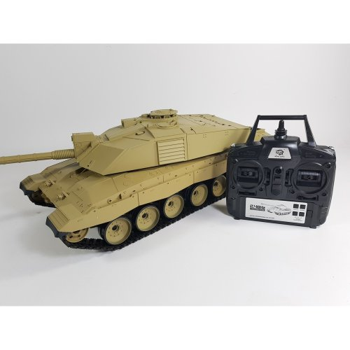 Heng Long Challenger 2 Radio Remote Control RC Tank 2.4G Smoke Sound