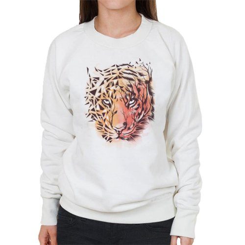 Geometric Tiger Women's Sweatshirt