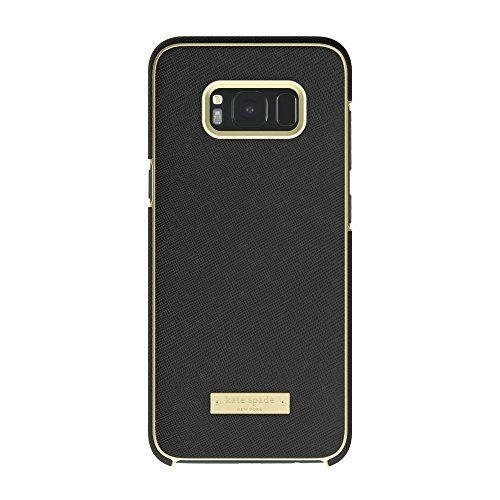 Kate Spade New York Wrap Case for Samsung Galaxy S8 Plus - Saffiano Black