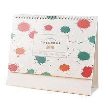 Creative Office Desktop Decoration Calendars Notepad Work Schedule,Watercolor