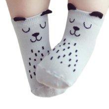 3 Pairs of Non-slip Newborn Baby Toddler Socks Warm Non-skid Stockings Baby Birthday Gift For 1-3 Year Baby-A01