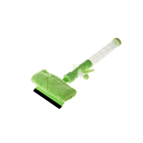 Green Window Glass Cleaner Wiper Squeegee Car Wash Brush Cleaning Tool