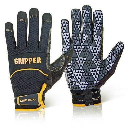 Mecdex MECPR-741L Rough Gripper Mechanics Gloves Large