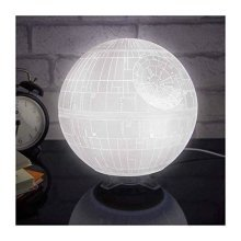 Star Wars Death Star Mood Light Plastic - multicolour