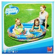 Bestway Inflatable Round Splash And Play Blue Swimming