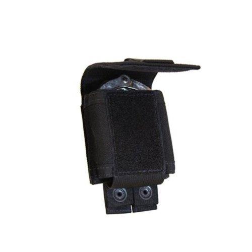 Tac Shield TGTCSH-T4010BK Single Cuff Case Molle Pouch in Black