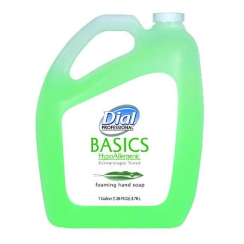 Dial Professional DIA 98612 Dial Basics Hypoaller Foam Soap Refill Green Sea