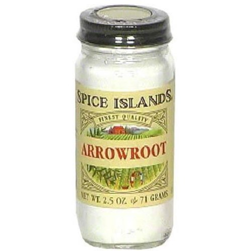 SPICE ISLAND ARROWROOT-2.5 OZ -Pack of 3