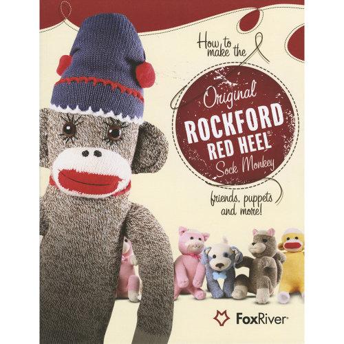 Fox River Red Heel Sock Monkey Pattern Book-