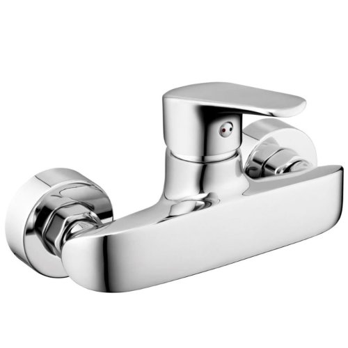 Fala Wall-Mounted Shower Tap Alicante Brass 75773