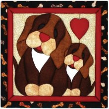 Puppy Love Quilt Magic Kit-Puppy Love