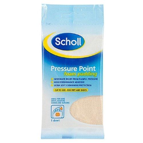 Scholl Pressure Point Padding - Foam Cushioning -  pressure scholl point foam padding cushioning