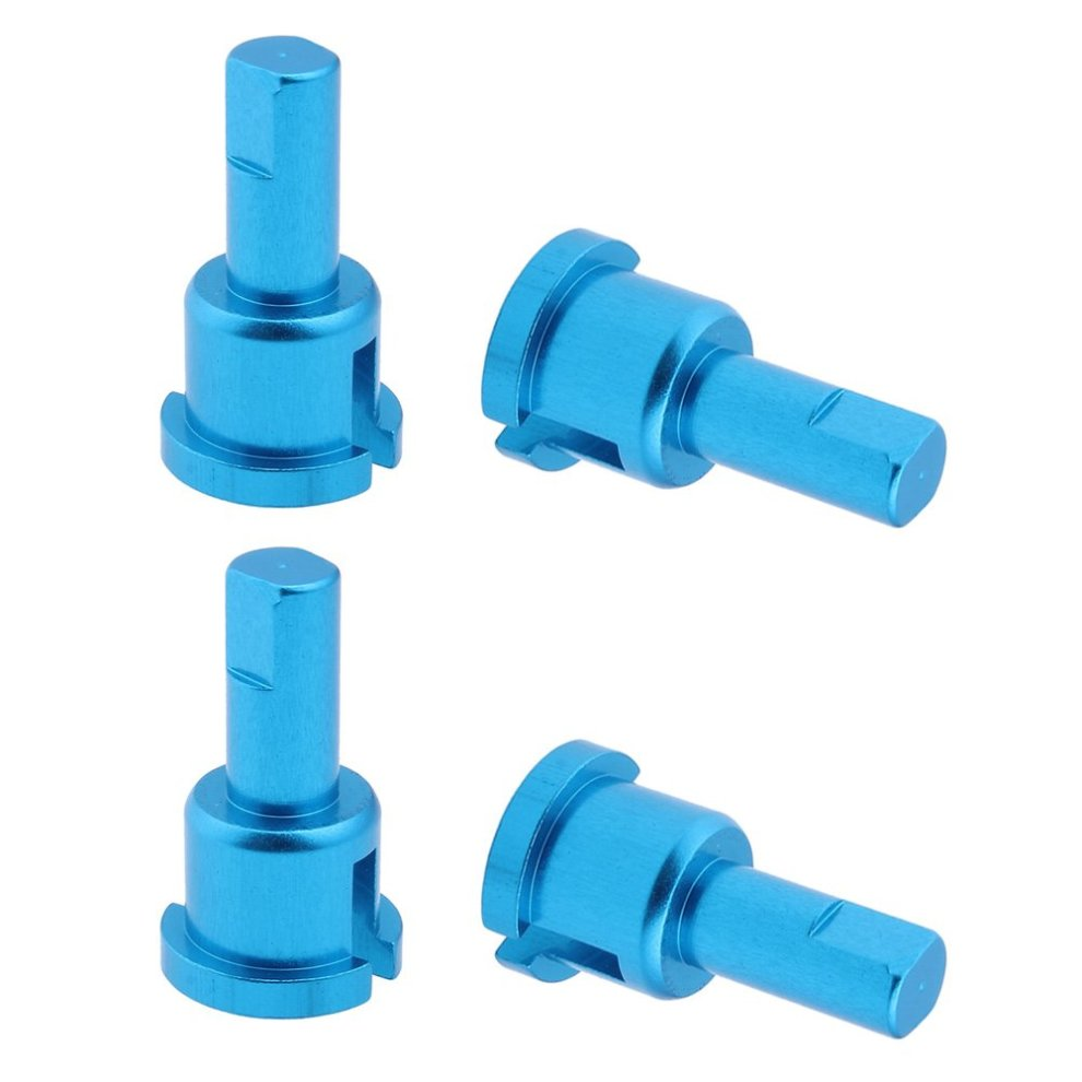4pcs Metal Diff Differential Cup Joint Replacement of A949-14 For WLtoys  A959 1/18 RC Car Replacement Upgrade Parts