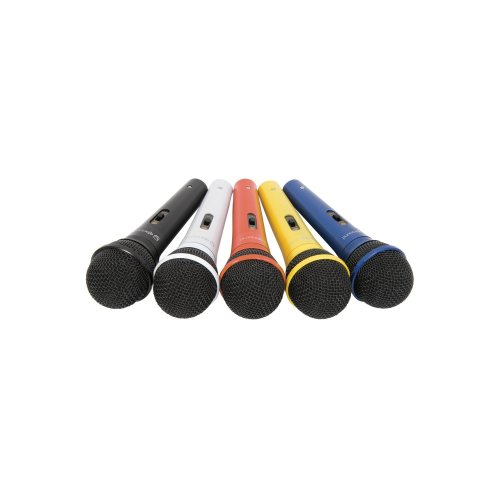 Dynamic Microphones set of 5 colours