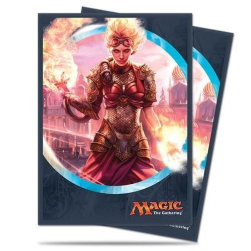 Magic the Gathering: Kaladesh Standard Deck Protectors - Chandra, Torch of Defiance (80)