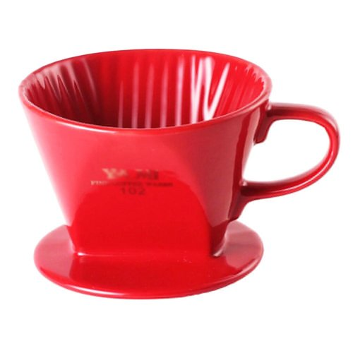 Tea/ Espresso /Coffee Accessories Coffee Filter Cup Red (102 Filter Paper)