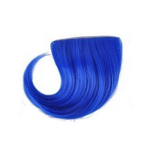 Colorful Wigs for Cosplay,Stage/Party Wig/Hair Bangs Wig,Blue