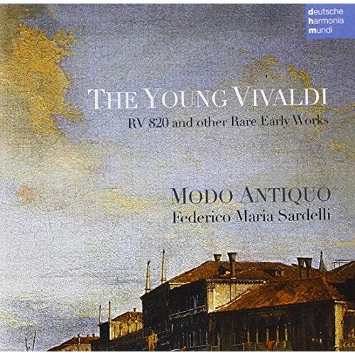 Ensemble Modo Antiquo - The Young Vivaldi [CD]