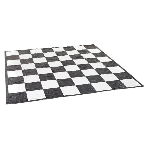 Garden Games Giant Chess or Draughts Mat - Super Strong PVC 3 Metres x 3 Metres for Use With Giant Chess and Draughts Pieces