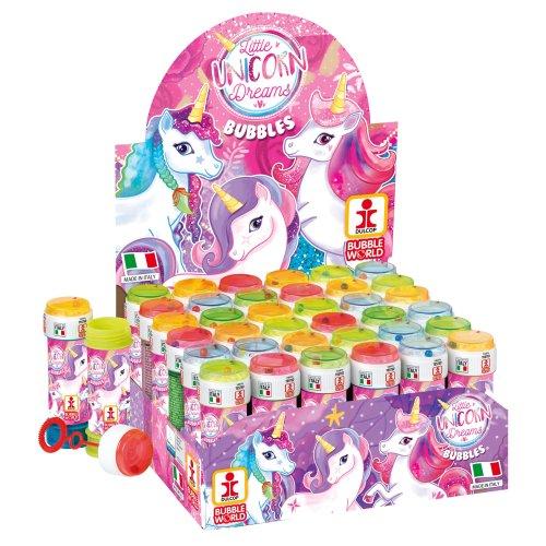 6 Unicorn Bubble Liquid Tubs