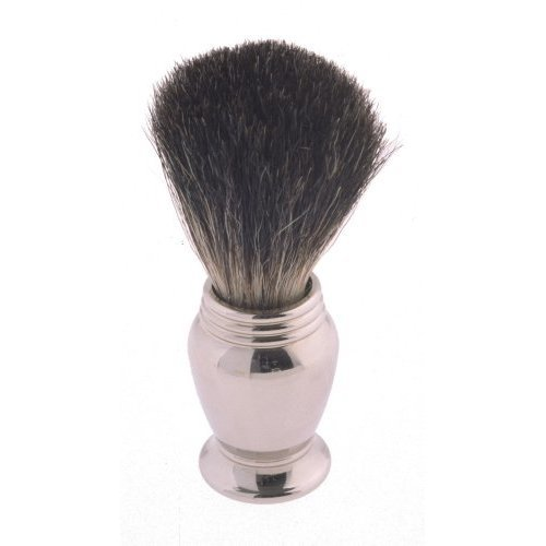 Colonel Conk Model 247 Pure Badger Shaving Brush with Chrome Handle