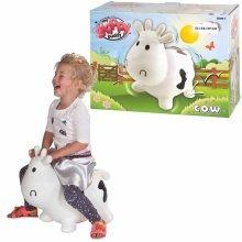 My Skippy Buddy Bouncy Animal Skippy Cow White KH1-23