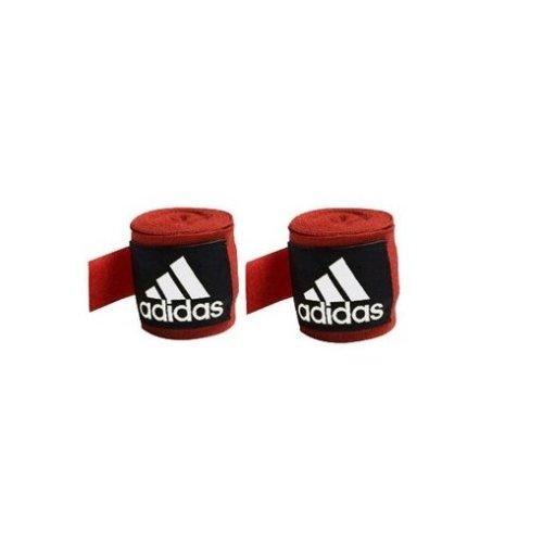 Adidas Bandage Boxing Crepe, Red, 5 x 2,55 Cm, Adibp03-rd-25 - Hand Wraps 255m -  boxing adidas hand wraps 255m wrist cotton bandages muay thai mma