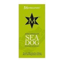 Montezumas Chocolate Sea Dog - Dark Chocolate with Lime & Sea Salt - 100g Bar
