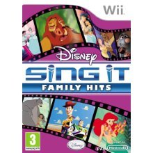 Disney Sing It : Family Hits (Wii)