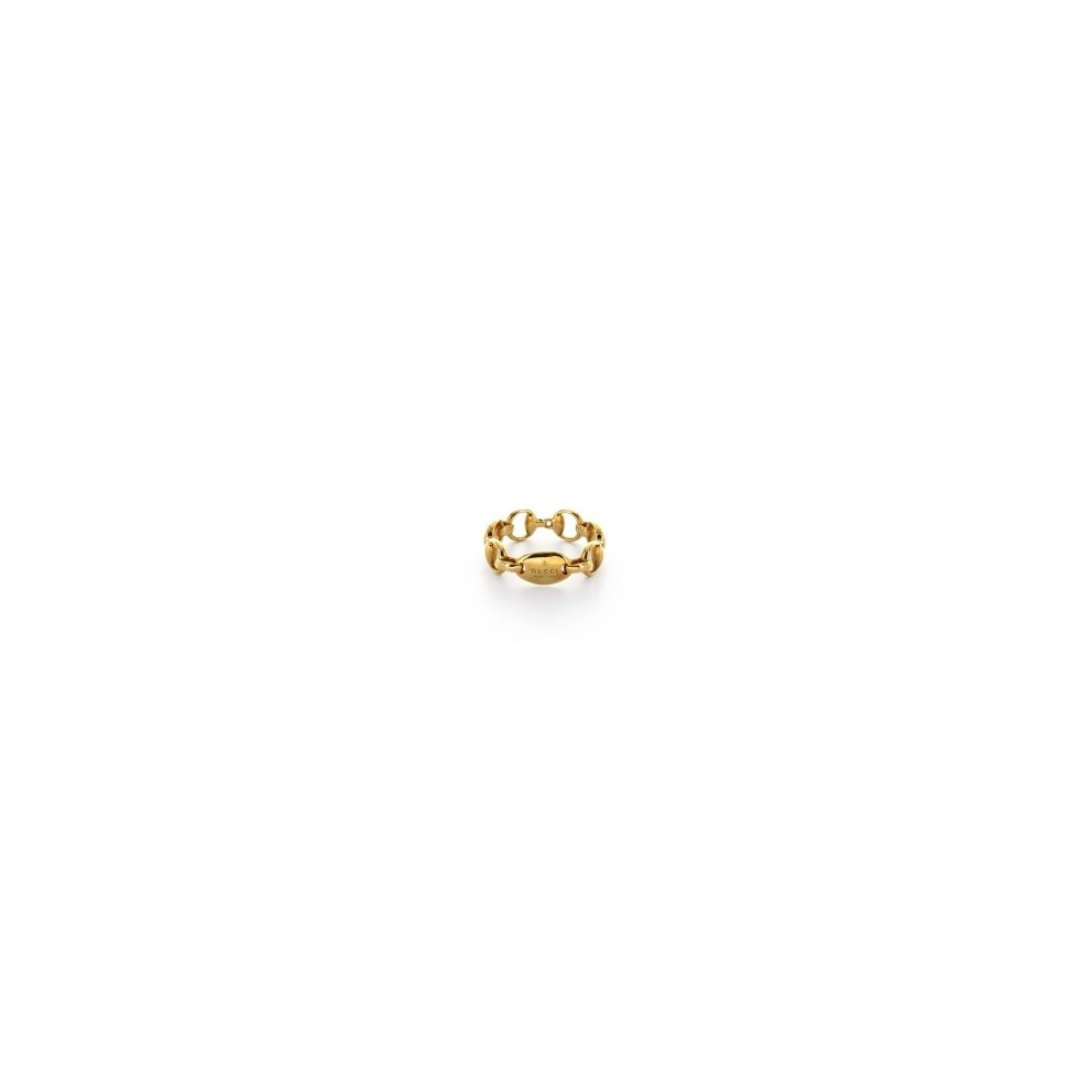 41ea87af30 GUCCI HORSEBIT RING 18KT YELLOW GOLD size 16 181361 J8500 8000