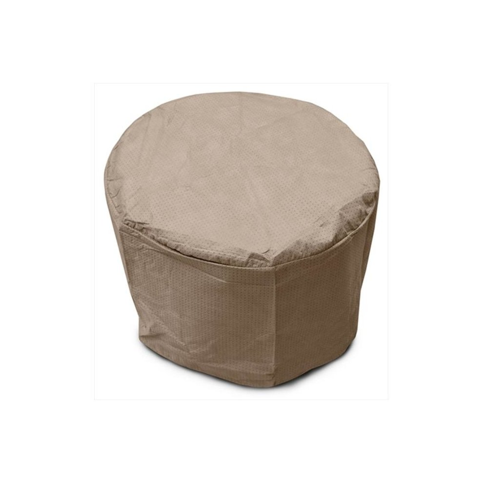 Koverroos 34262 Iii Round Table Cover Taupe 22 Dia X 15 H In On