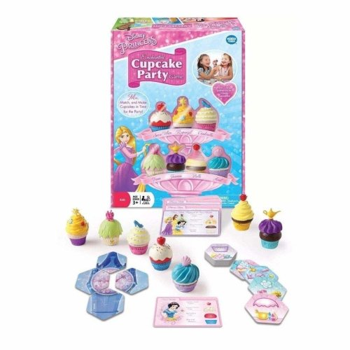 Disney Princess Enchanted Cupcake Board Game