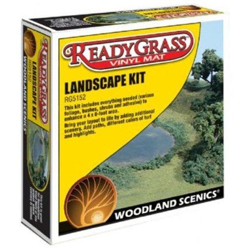 Woodland Scenics WSRG5152 ReadyGrass Landscape Kit