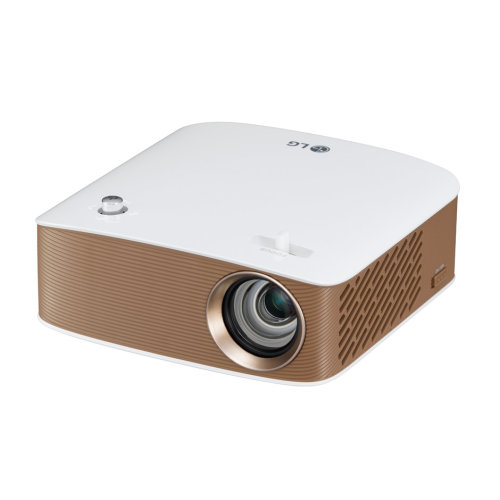 LG PH150G 130ANSI lumens LCOS 720p (1280x720) Portable projector Gold,White data projector
