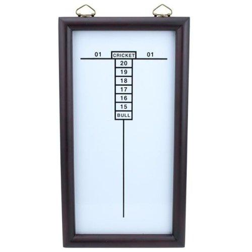 Brybelly Holdings SDRT-302 White Dry Erase Cricketeer Scoreboard