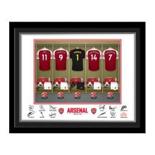 Personalised AFC Goalkeeper Dressing Room Photo Framed