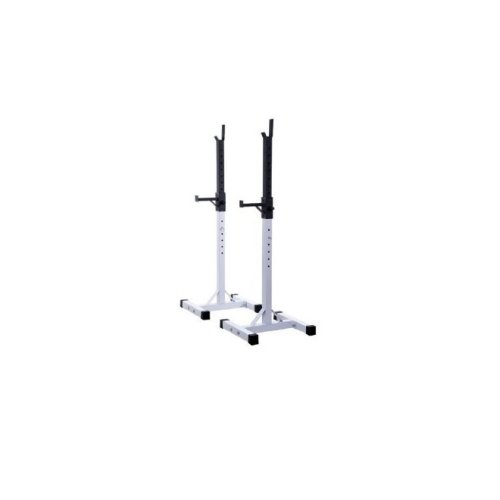 Homcom Weights Bar Barbell Squat Stand Rack Spotter Gym Fitness